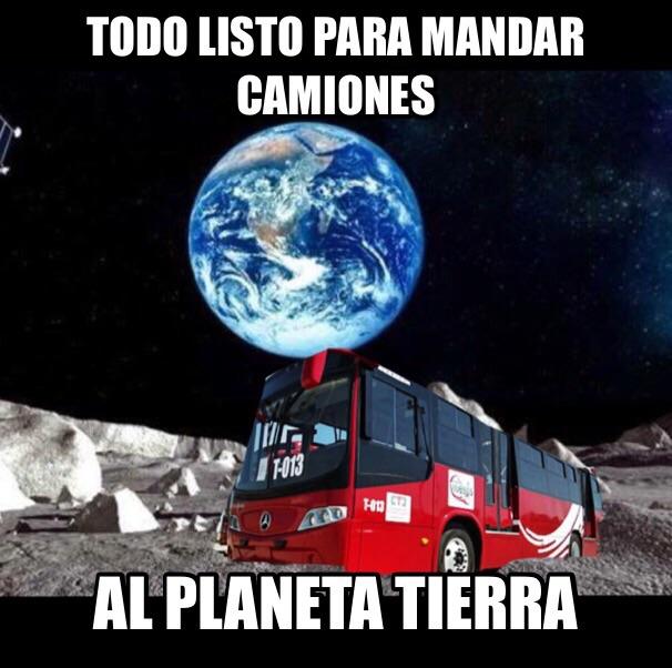 Lo dicho, Duarte Jáquez, lunático: ya importa camiones extraterrestres