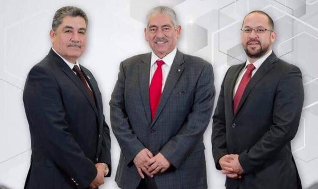 Armando González, el desechado; Raúl Sánchez Acosta y Pablo Zaldívar Esquivel por la FCA.
