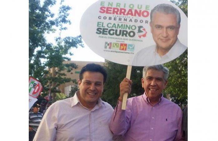 Luis Fierro (izq). Por el PRI.