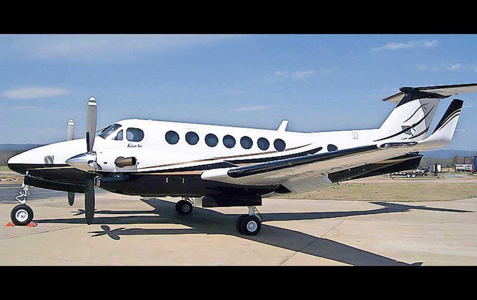 Diario de un gobernador con avión