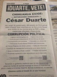 Caso Duarte: Unión Ciudadana exige su lugar