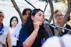 Vigilia feminista contra la violencia a las mujeres en Chihuahua