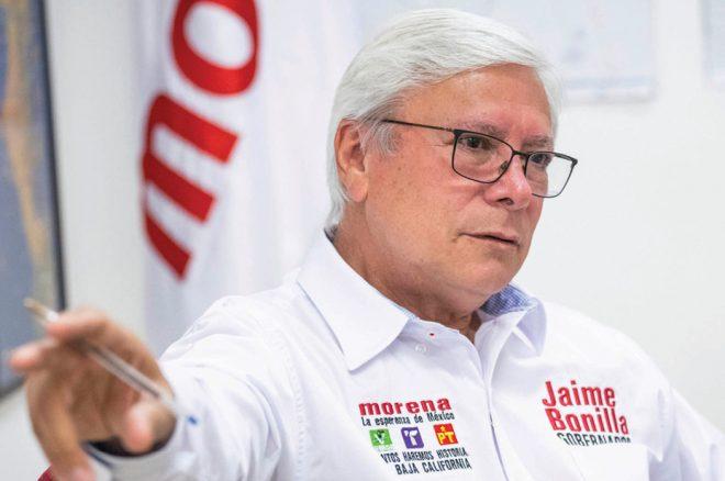 Jaime Bonilla, con fuertes vientos en su contra