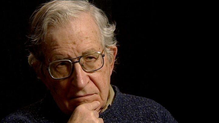 Chomsky nos habló del Tratado de Aguas de 1994