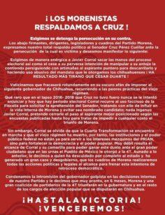 Cruz Pérez Cuéllar: guinda por fuera, azul por dentro