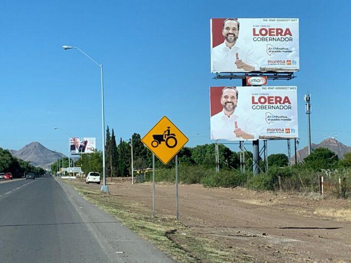 Juan Carlos Loera: cuando hay dinero público, hasta se duplican espectaculares