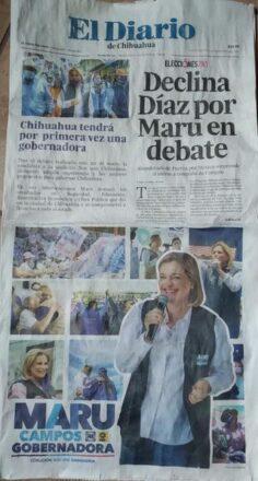 La prensa de papel continúa medrando con las elecciones