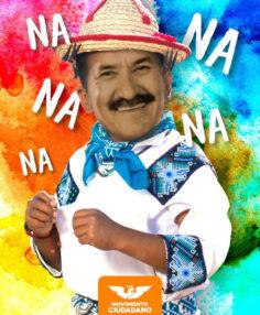 Javier Corral, ya más naranja que azul