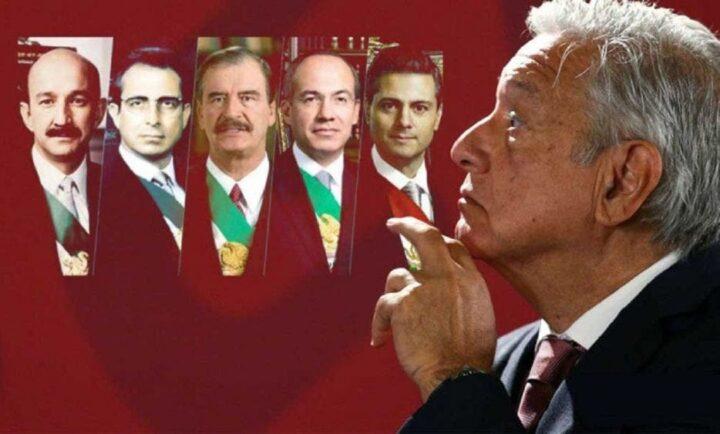 AMLO, ¿le tiene miedo a los expresidentes?