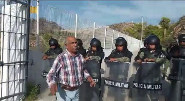 Conflicto del agua: contra justicia selectiva; libertad a presos políticos de la 4T