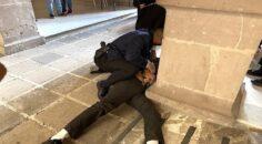 Maru y el abuso policial en el Palacio de Gobierno