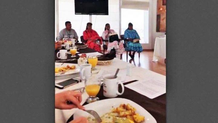 Desayuno en el Congreso
